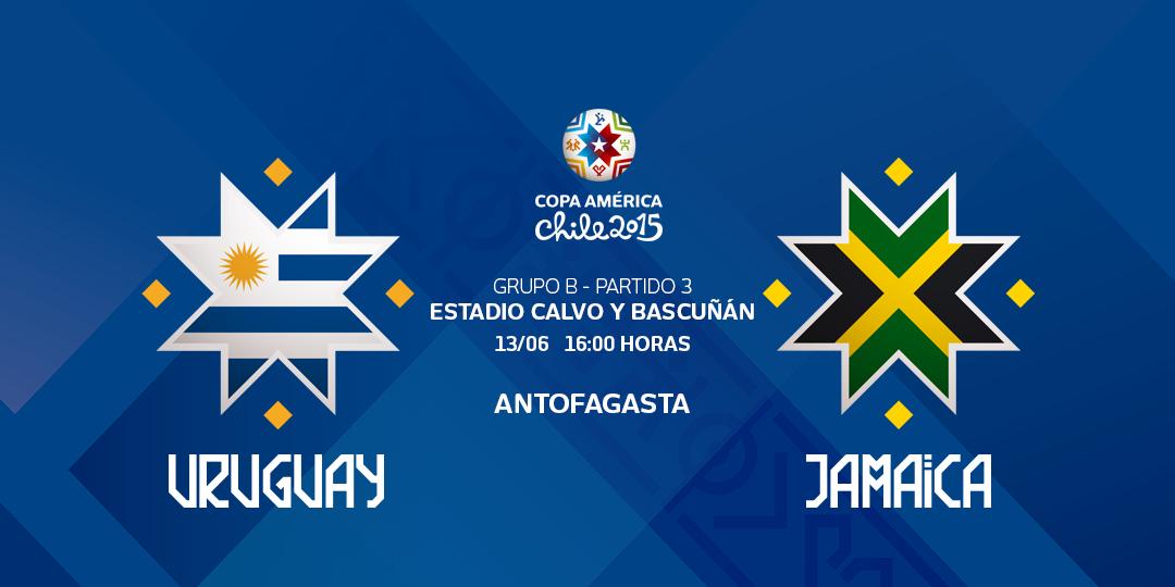 Ver Uruguay vs. Jamaica en vivo