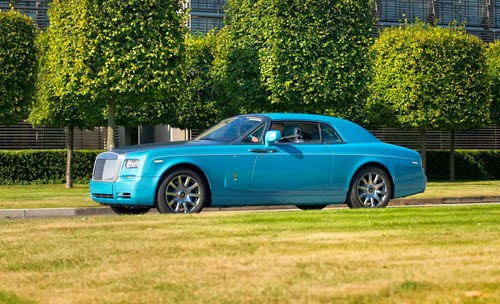 Rolls-Royce Phantom Ghawwass
