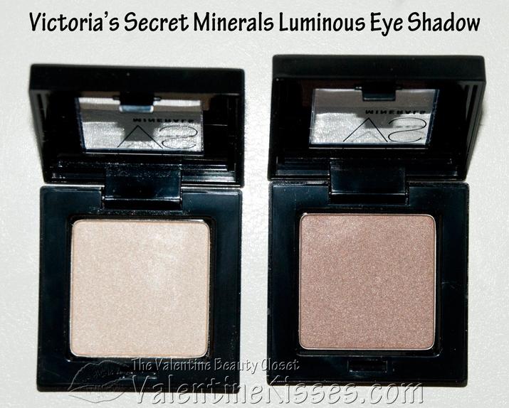 Valentine Kisses Victorias Secret Minerals Luminous Eye Shadow