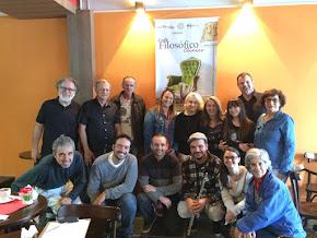 Café Filosófico Clínico em Porto Alegre. Gratidão pela companhia! Outubro/2017