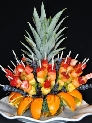 Edible Fruit Centerpiece