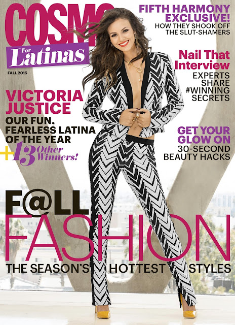 Actress, Singer @ Victoria Justice - Cosmo For Latinas Fall 2015