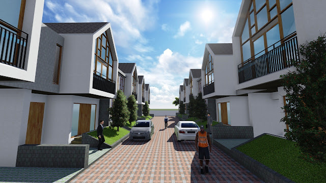 Komplek Perumahan Elite Residence Pondokcabe