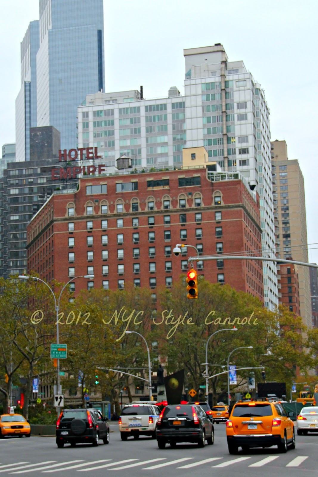 The Empire Hotel | NYC, Style & a little Cannoli