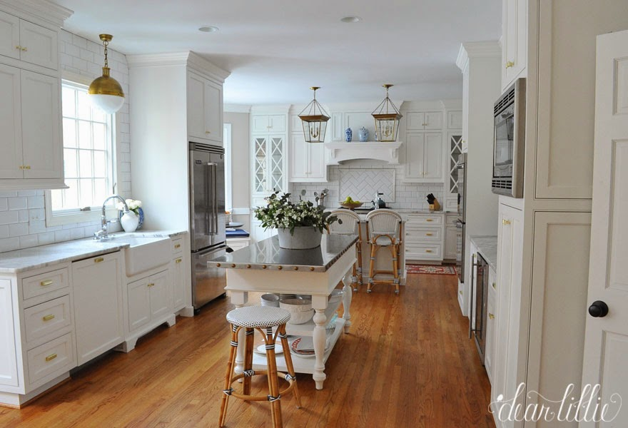 Dear Lillie A Classic and Timeless White Kitchen