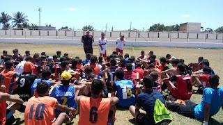 Mais de 150 garotos participam da peneira Oficial do Flamengo realizada em  Cuité