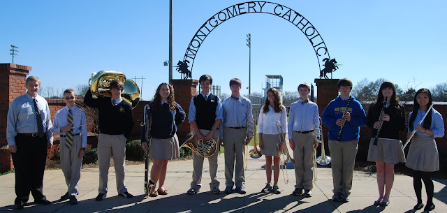 Montgomery Catholic Band Members selected for Alabama District Honor Band 1