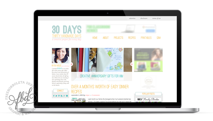 Latest Blog Designs - Thirty Handmade Days