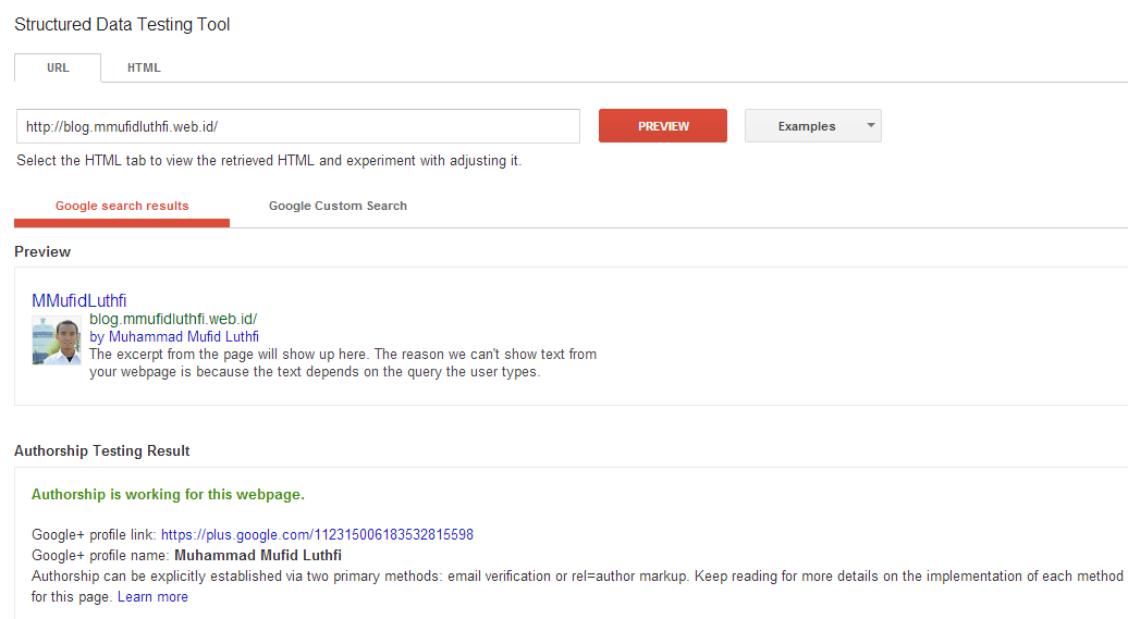 Google Plus Authorship   MMufidLuthfi