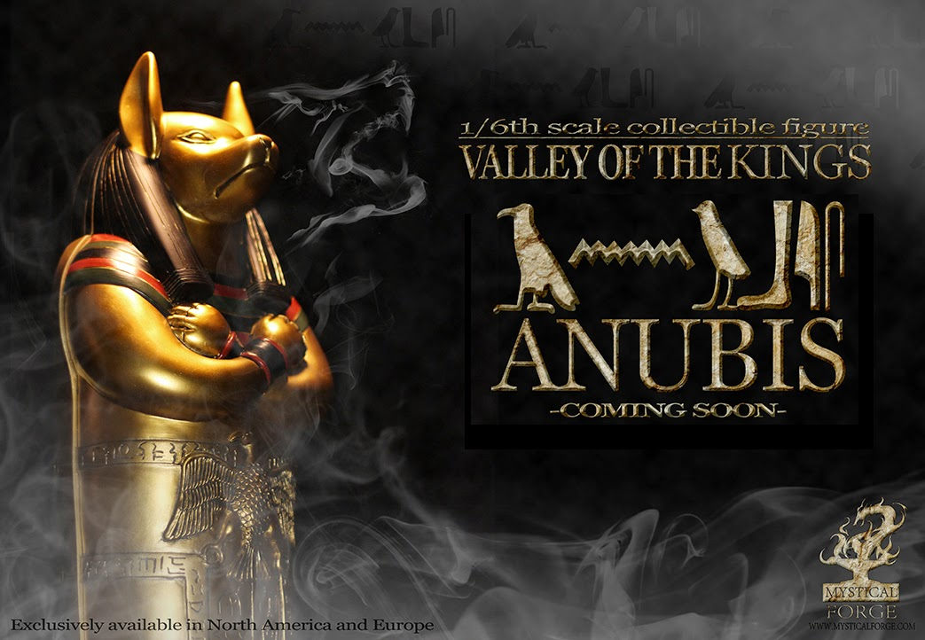 Valley of the kings Anubis della Mystical Forge