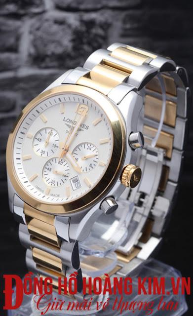 Đồng hồ nam chính hãng tại Cầu Giấy nhãn hàng Longines L163