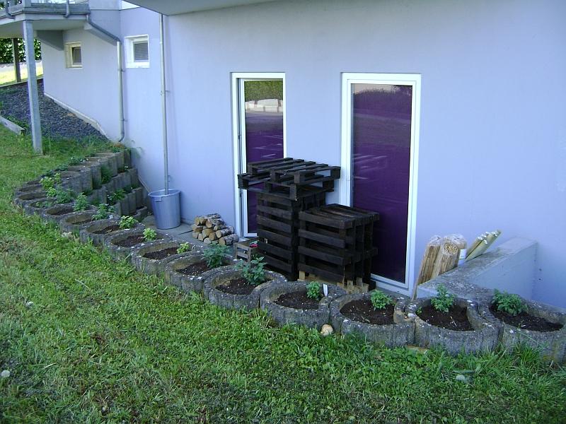 naturlicher sichtschutz terrasse kreative ideen f r ihr