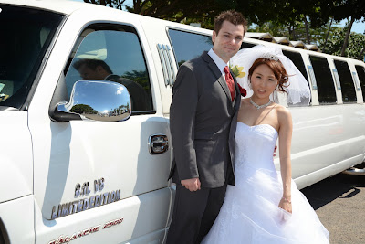 Hawaii Wedding Limo