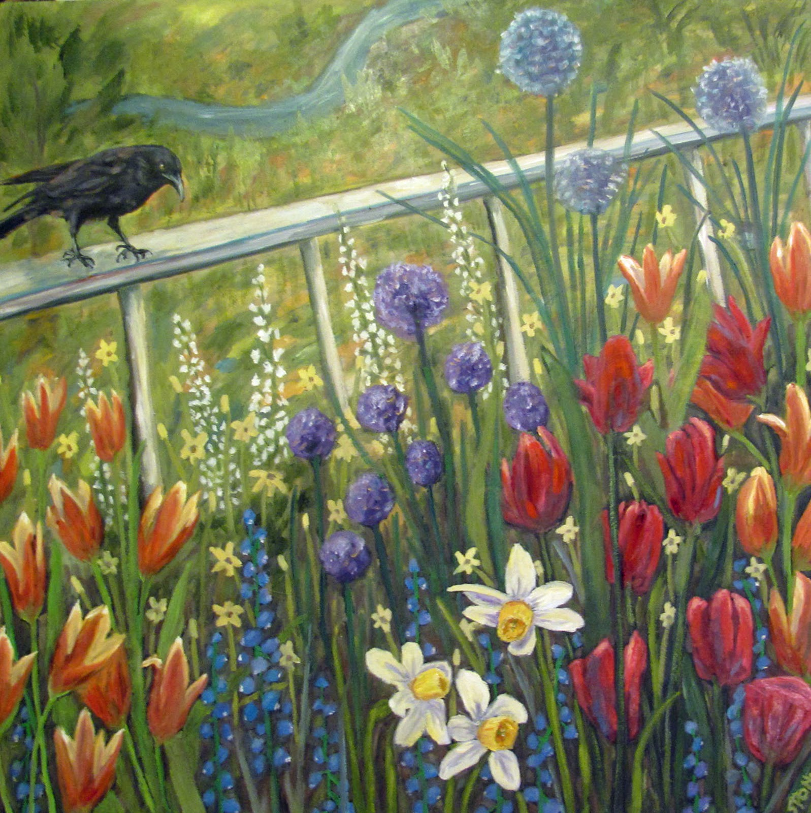 Artist Susan Spohn: Mrs. Crow\'s Spring Vision, Floral Paintings ...
