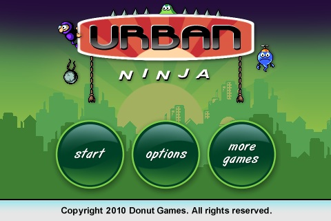 Urban Ninja Free App Game By Donut Games