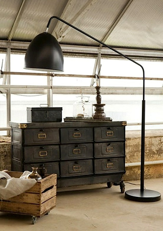 Interior Design Industrial Furniture ~ Industrial chic… love the trend frog hill designs
