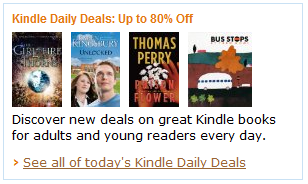 Discover new deals on great Kindle books for adults and young readers every day