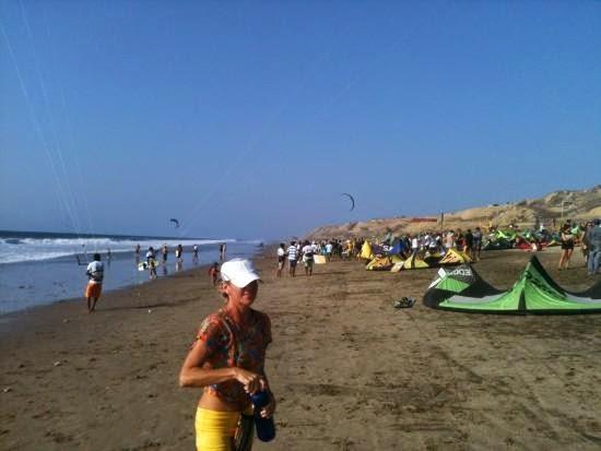 Turismo en Ecuador Playa Santa Marianita Manta