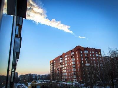 Danos por Meteorito na Rússia - Um Asno