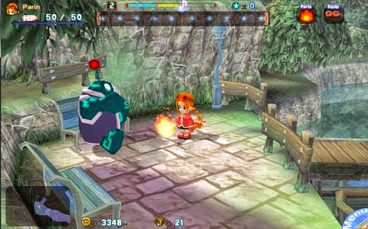 gurumin a monstrous adventure psp gameplay