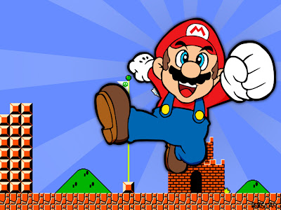 Game Mario ăn nấm cứu công chúa