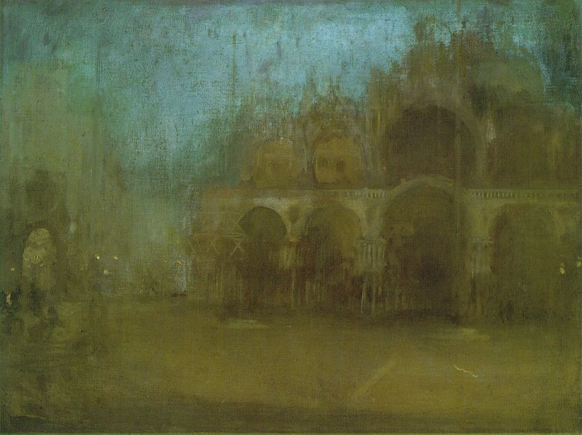 Whistler Nocturne In Blue And Gold