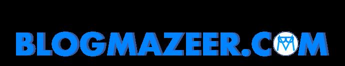 Blog Mazeer