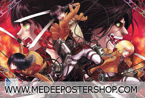 Attack on Titan Poster - 01