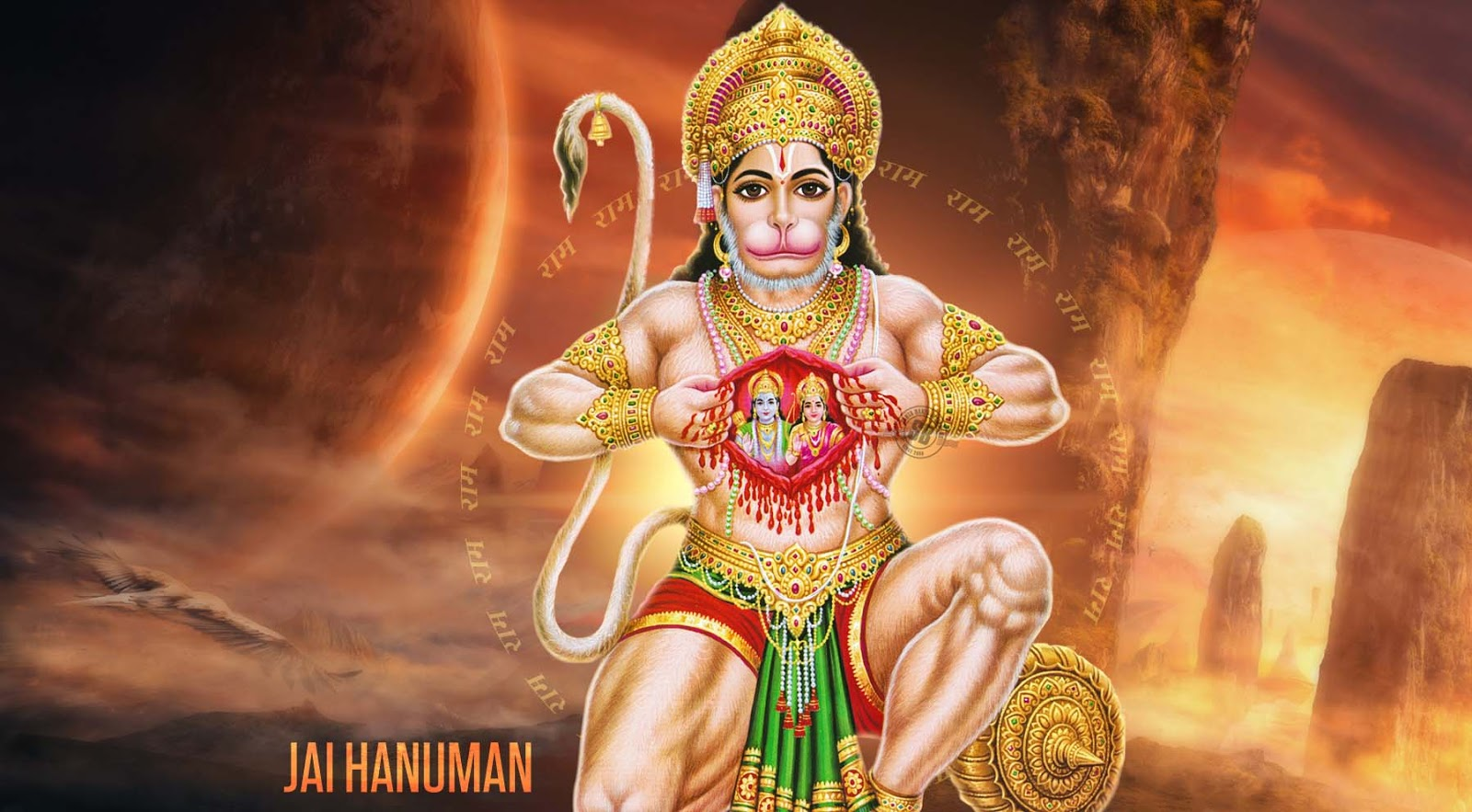 Hd wallpaper hanuman - Hanuman Wallpaperrs