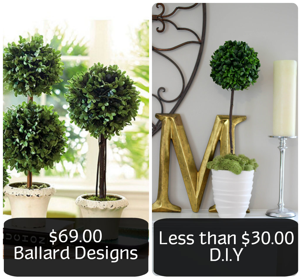 mantle topiary
