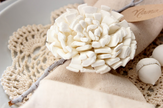 Handmade Clay Flower Tutorial :: By Craftberry Bush