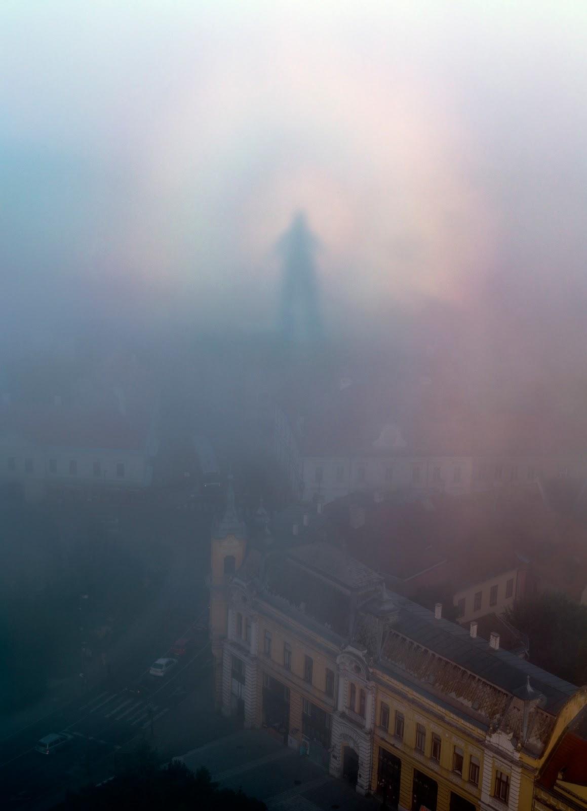Hình ảnh thể loại brocken spectre được chụp ở thành phố Veszprem, Hungary vào ngày 11/8/2014 vừa qua bởi tác giả Tamas Ladanyi.