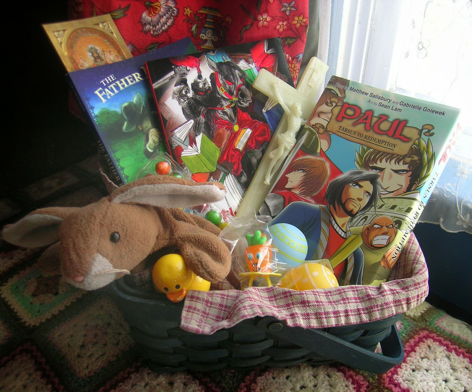 House Art Journal Easter Basket Tour 2014 8 10 year old Boy Basket