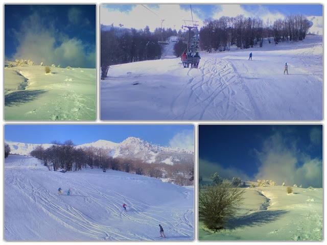 Πλήθος κόσμου στο χιονοδρομικό της Βασιλίτσας!