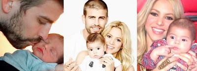 La cantante y el futbolista posan a menudo con su hijo Milan