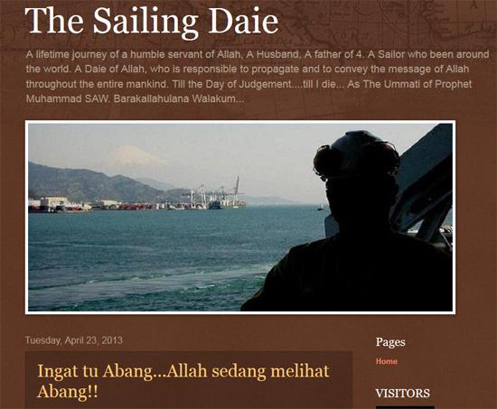 The Sailing Daei - Blog peribadi berkonsep dakwah