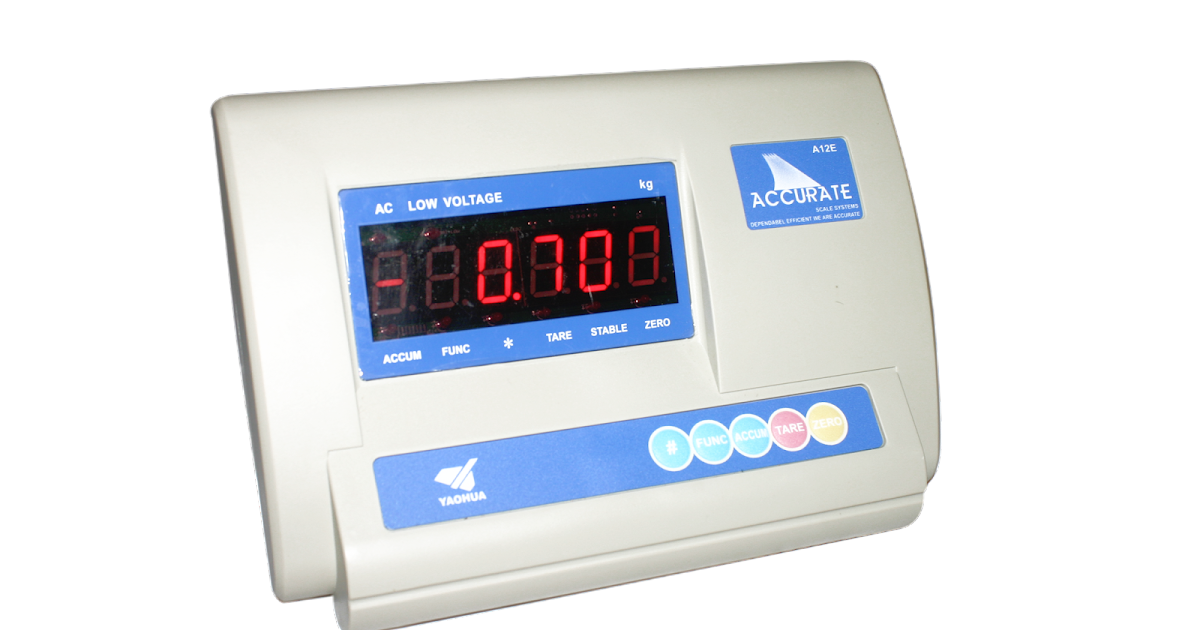Accurate Scale Accurate Weighing Indicator A12e