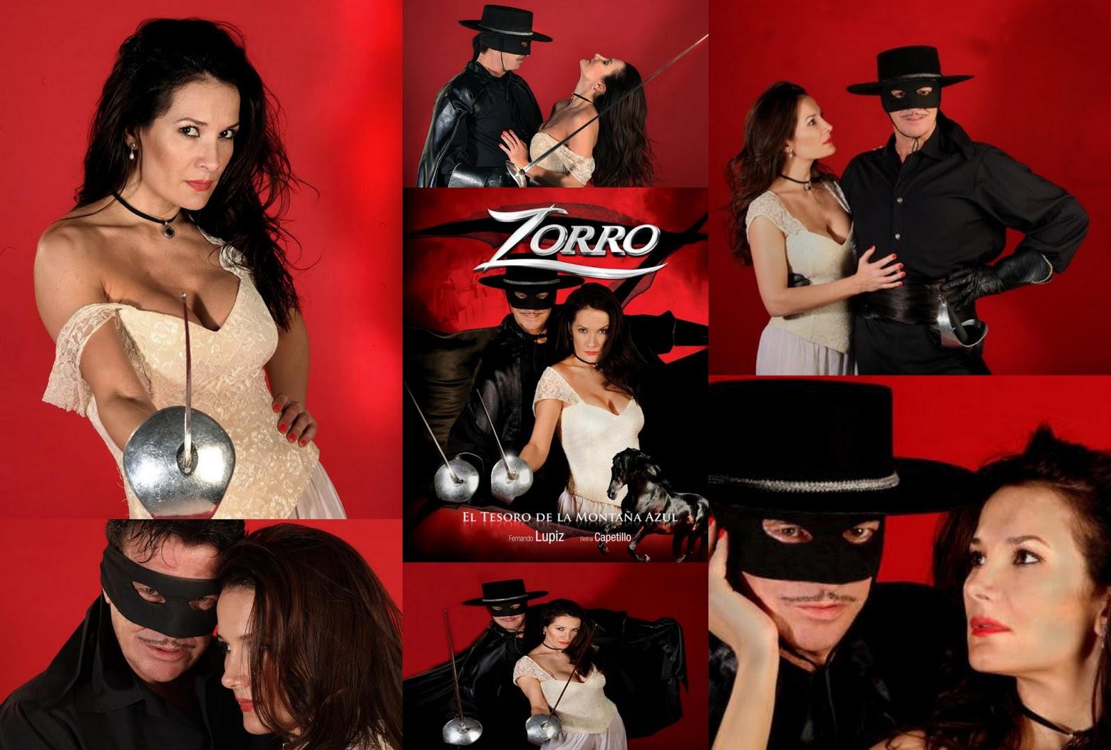 Fernando Lupiz Y Betina Capetillo En Zorro El Tesoro De La Monta