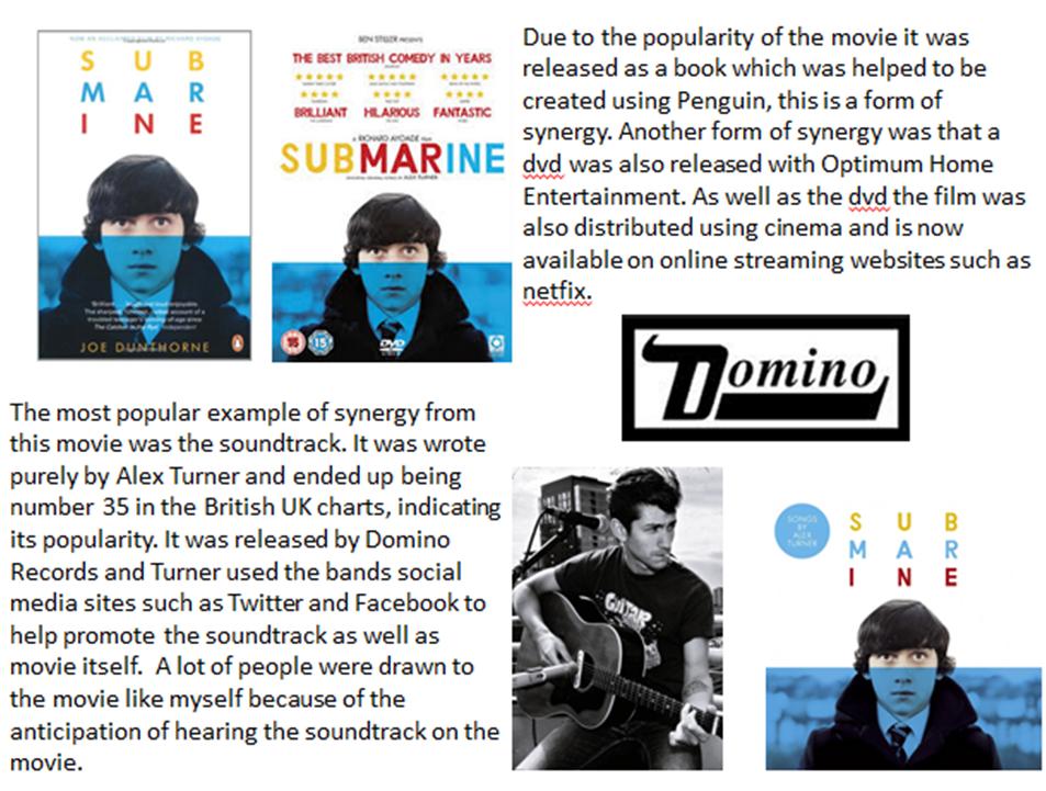 Submarine Movie Soundtrack Soundtrack to The Movie