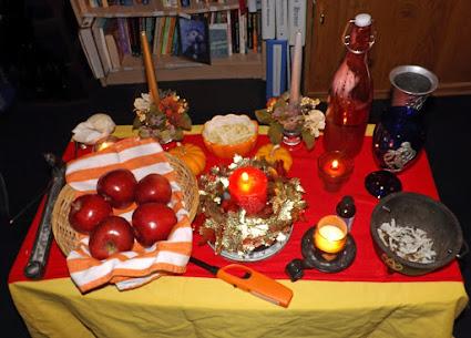 Mabon/Autumn Equinox altar