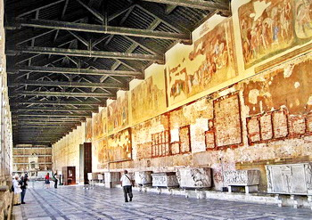Camposanto Pisa interior