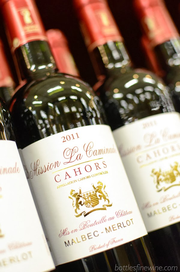 Mission La Caminade - Malbec Merlot from Cahors, France