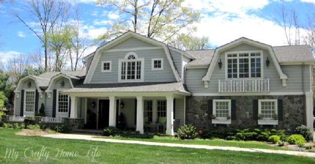 Calling it home our home nantucket style for Nantucket style home plans