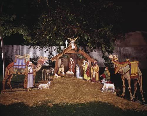 nativity scene sets.