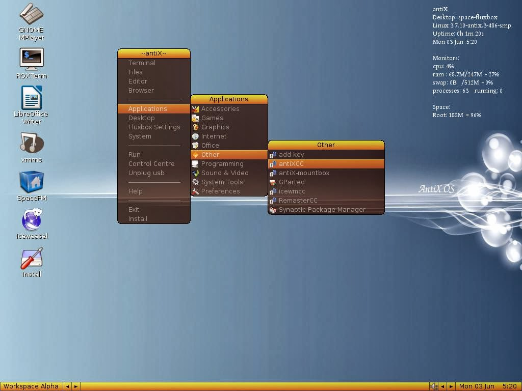 легкие дистрибутивы линукс