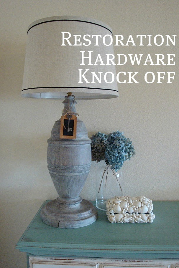 Restoration Hardware Knockoff Lamp