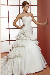 vestido straple oreasposa 2013