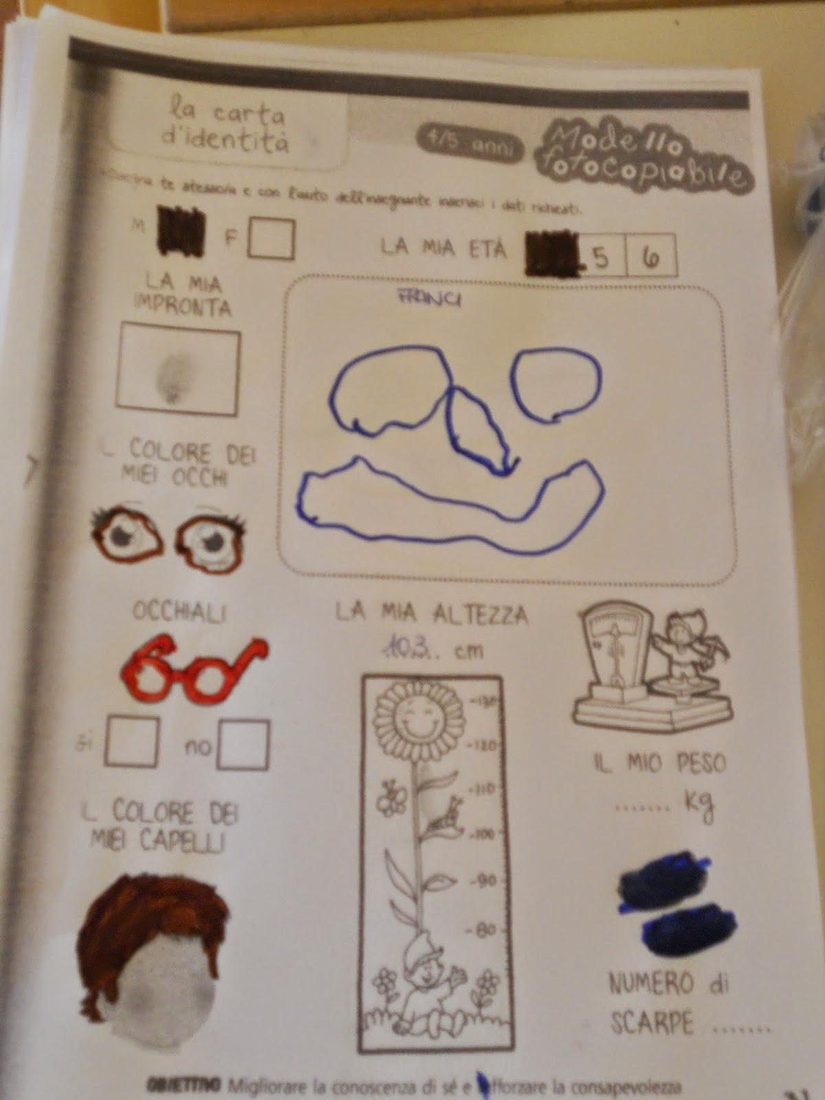 Molto Post scuola..che passione!: LA CARTA D'IDENTITà SR49