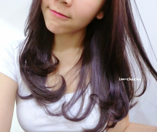 D'sire Hair Review : Violet Ash Hair Color - imchacha