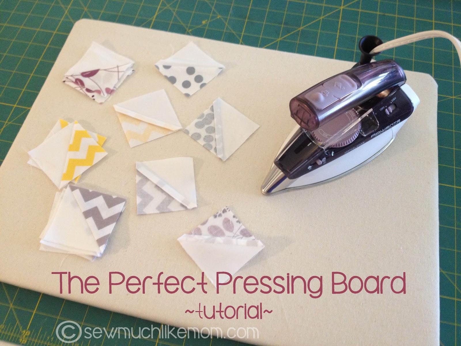 Sew Much Like Mom: Perfect Pressing Boards: A DIY Tutorial : quilting ironing pad - Adamdwight.com